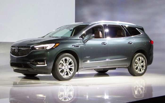 63 The 2020 Buick Enclave Avenir Colors Redesign and Concept for 2020 Buick Enclave Avenir Colors