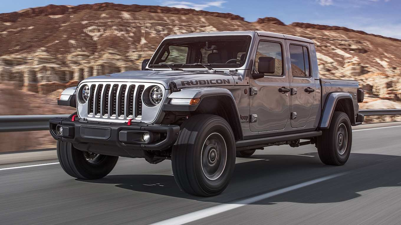 65 All New Jeep Gladiator Mpg 2020 Specs for Jeep Gladiator Mpg 2020