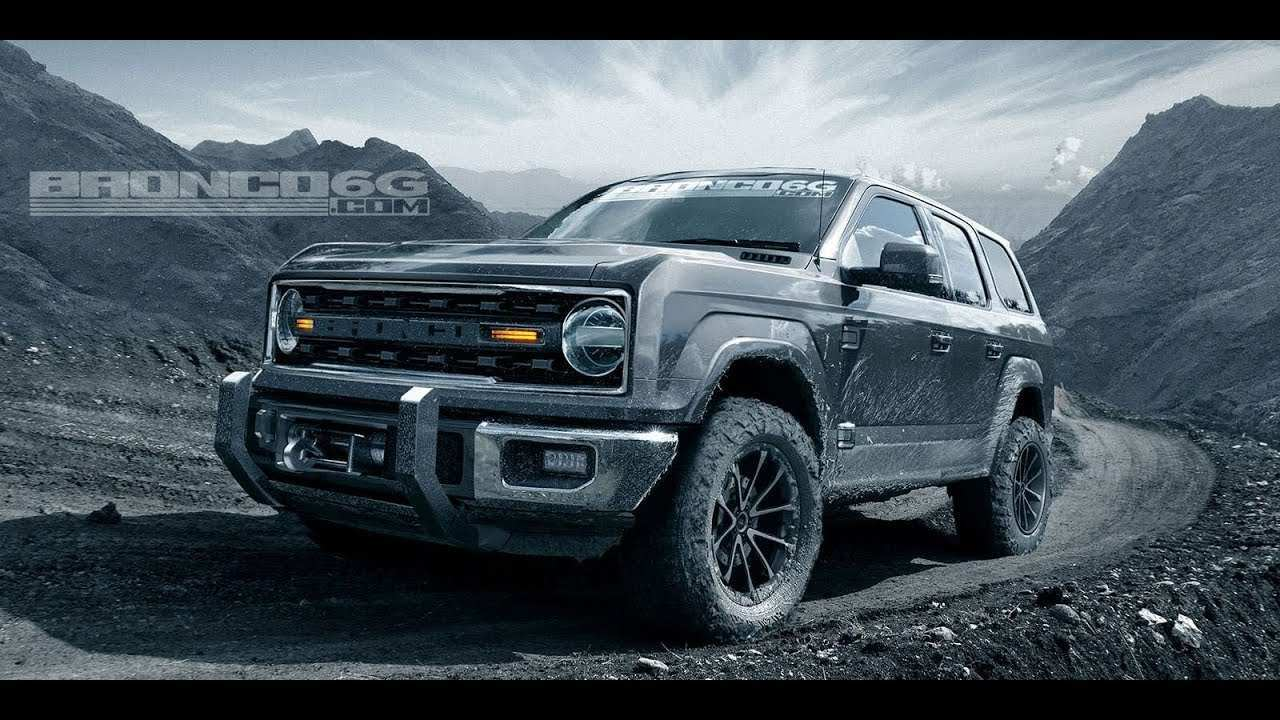 66 The 2020 Ford Bronco Leaked Exterior and Interior with 2020 Ford Bronco Leaked