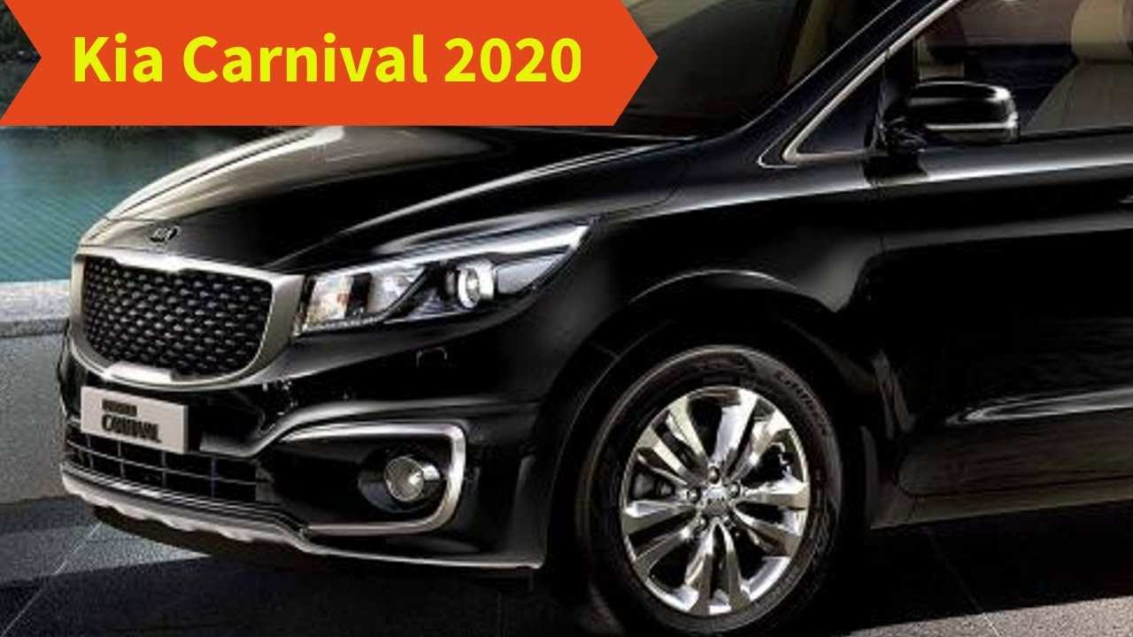 66 The Kia Grand Carnival 2020 Specs and Review by Kia Grand Carnival 2020