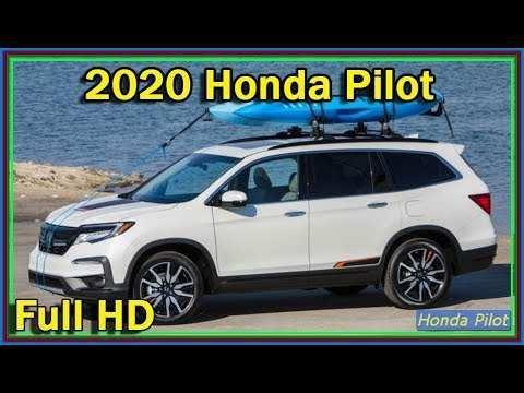 67 New Honda Pilot 2020 Model Review by Honda Pilot 2020 Model
