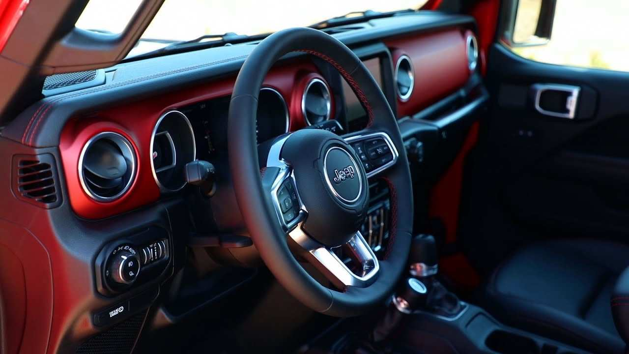 68 Best Review 2020 Jeep Gladiator Interior Price and Review with 2020 Jeep Gladiator Interior