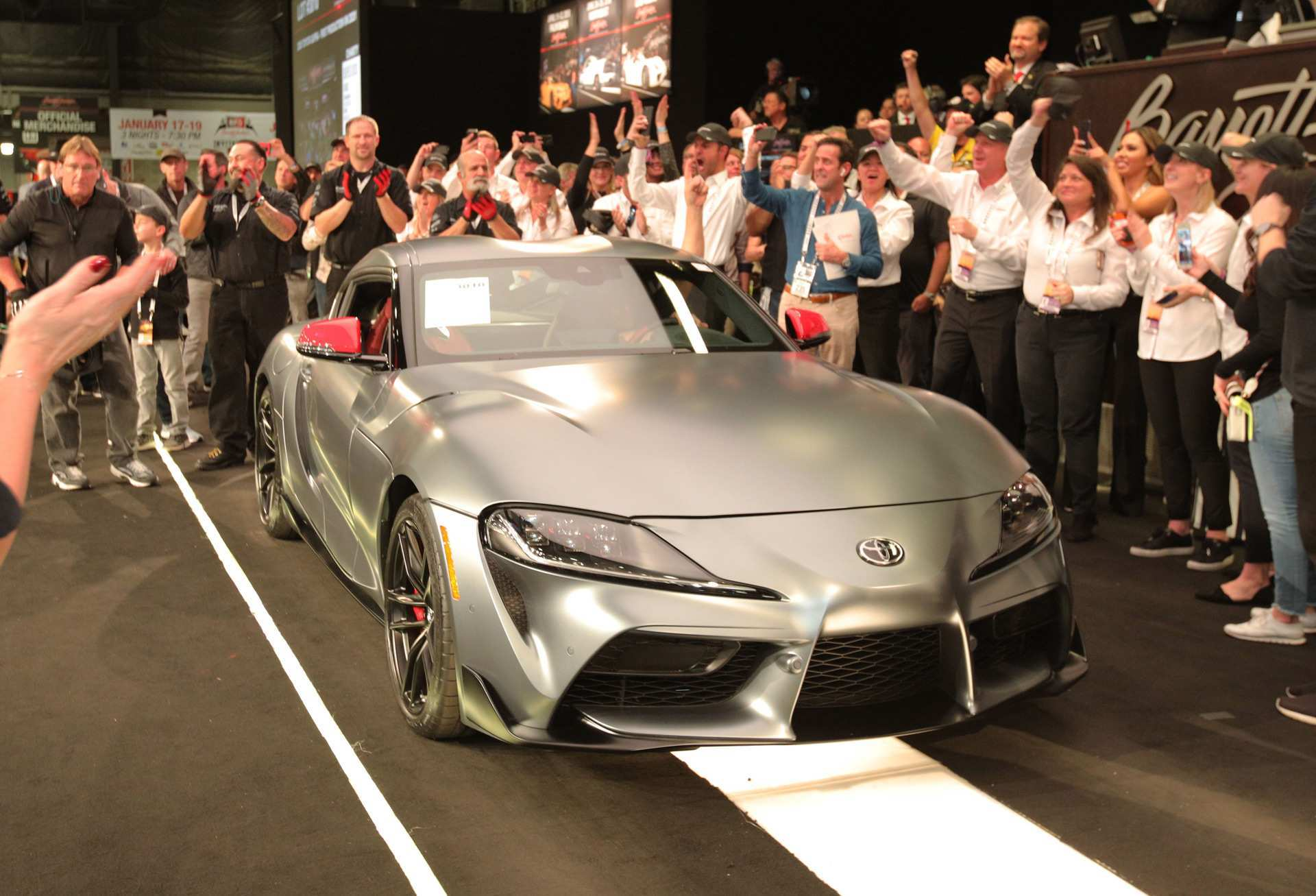 68 Concept of Who Bought The 2020 Toyota Supra At Barrett Jackson Speed Test for Who Bought The 2020 Toyota Supra At Barrett Jackson