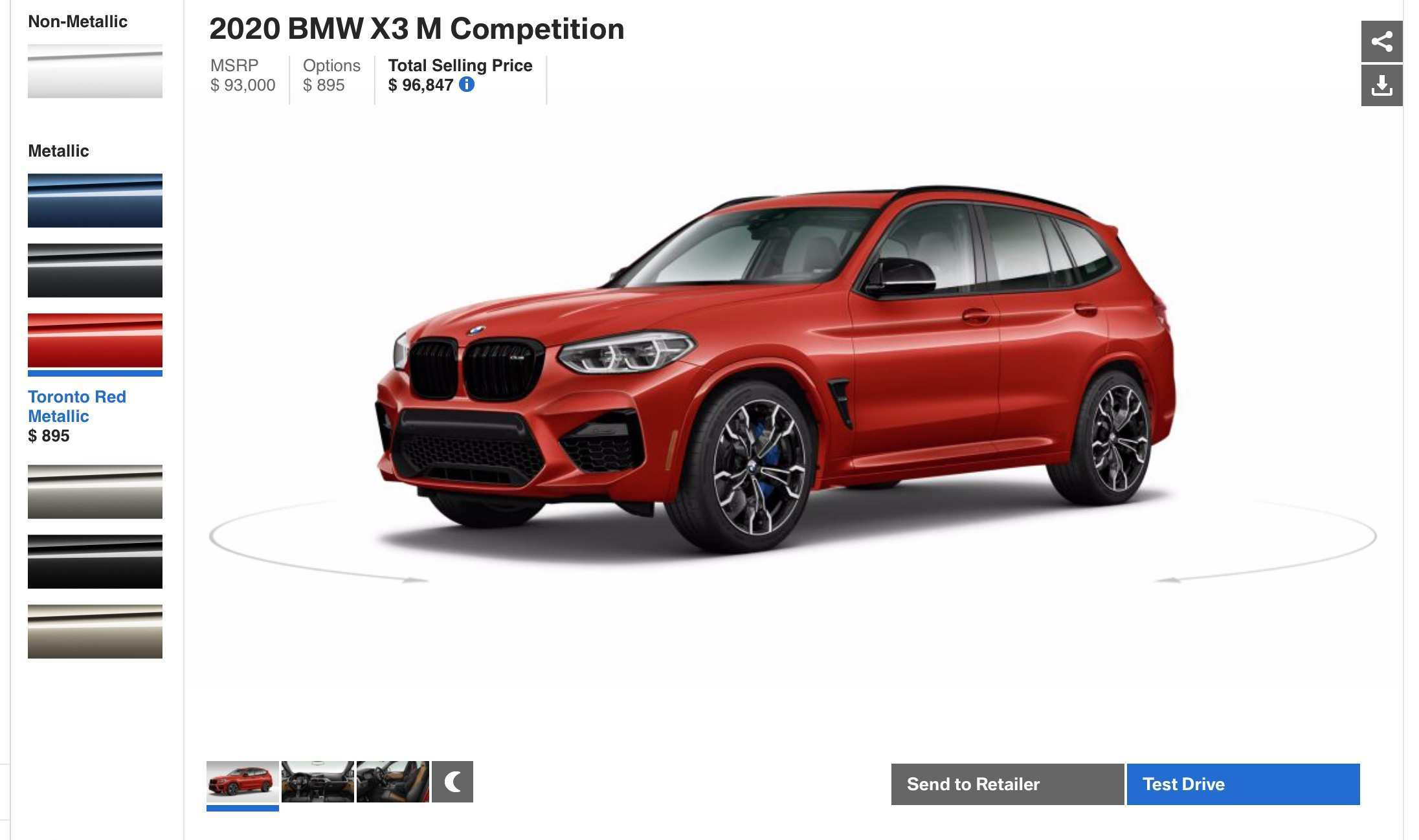 69 The 2020 BMW X3M Ordering Guide Price by 2020 BMW X3M Ordering Guide