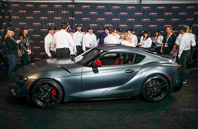 70 Great Who Bought The 2020 Toyota Supra At Barrett Jackson Price with Who Bought The 2020 Toyota Supra At Barrett Jackson