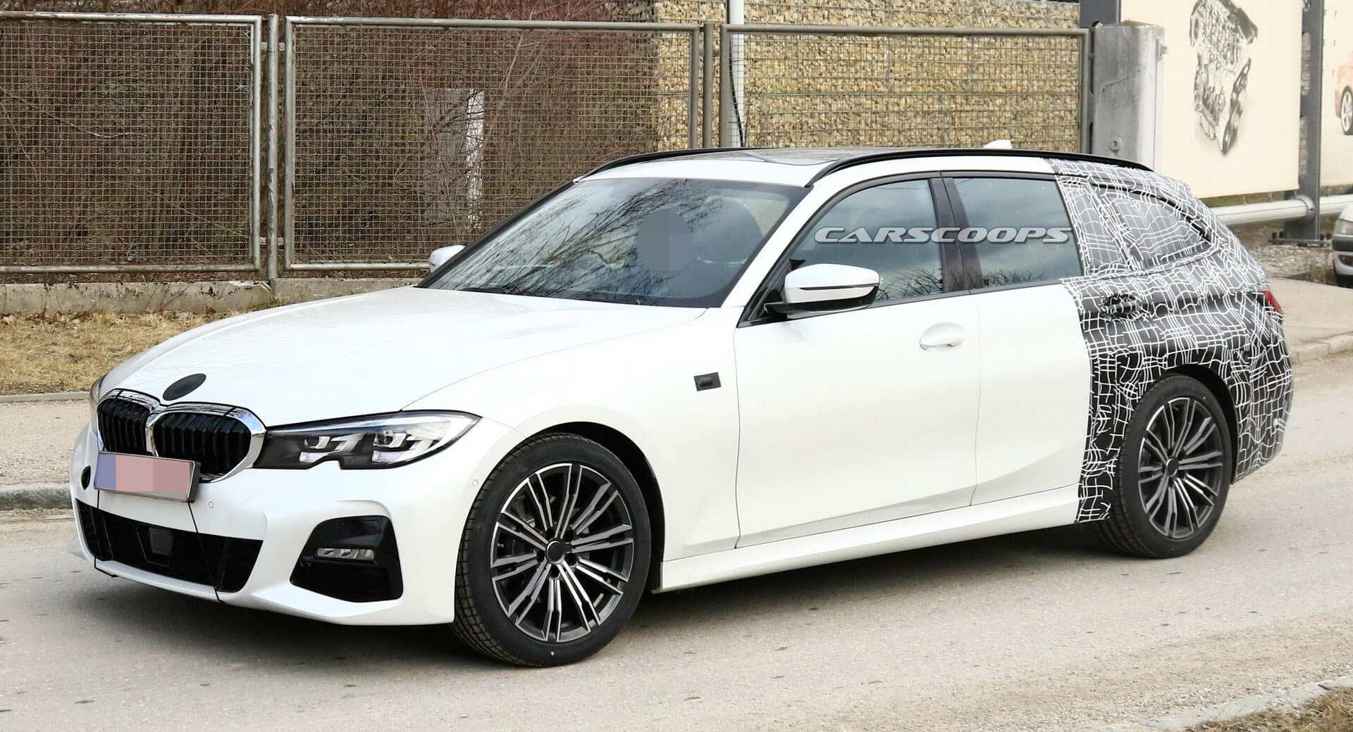 70 The BMW 3 Series Touring 2020 Spy Shoot by BMW 3 Series Touring 2020