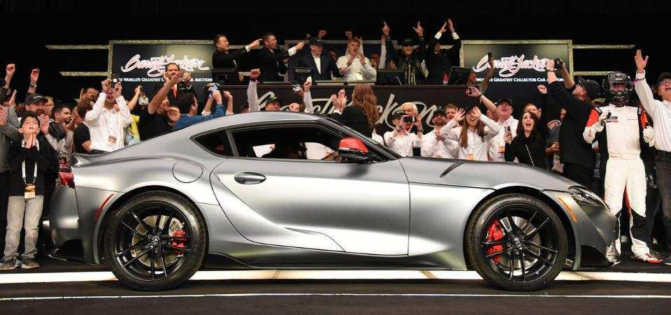 70 The Who Bought The 2020 Toyota Supra At Barrett Jackson Style for Who Bought The 2020 Toyota Supra At Barrett Jackson