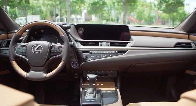 71 Gallery of Lexus Es 2020 Interior Spy Shoot for Lexus Es 2020 Interior