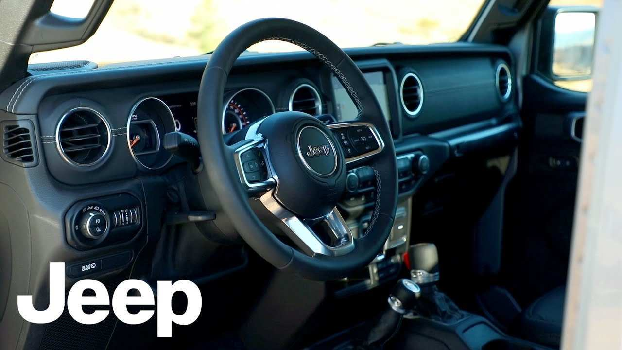 71 Great 2020 Jeep Gladiator Interior Redesign by 2020 Jeep Gladiator Interior
