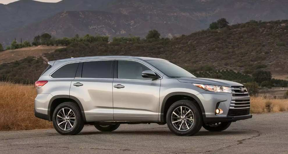 71 New Toyota Highlander 2020 Release Date Spy Shoot by Toyota Highlander 2020 Release Date