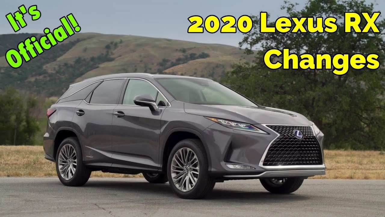 72 Gallery of Lexus Rx 350 Year 2020 History for Lexus Rx 350 Year 2020