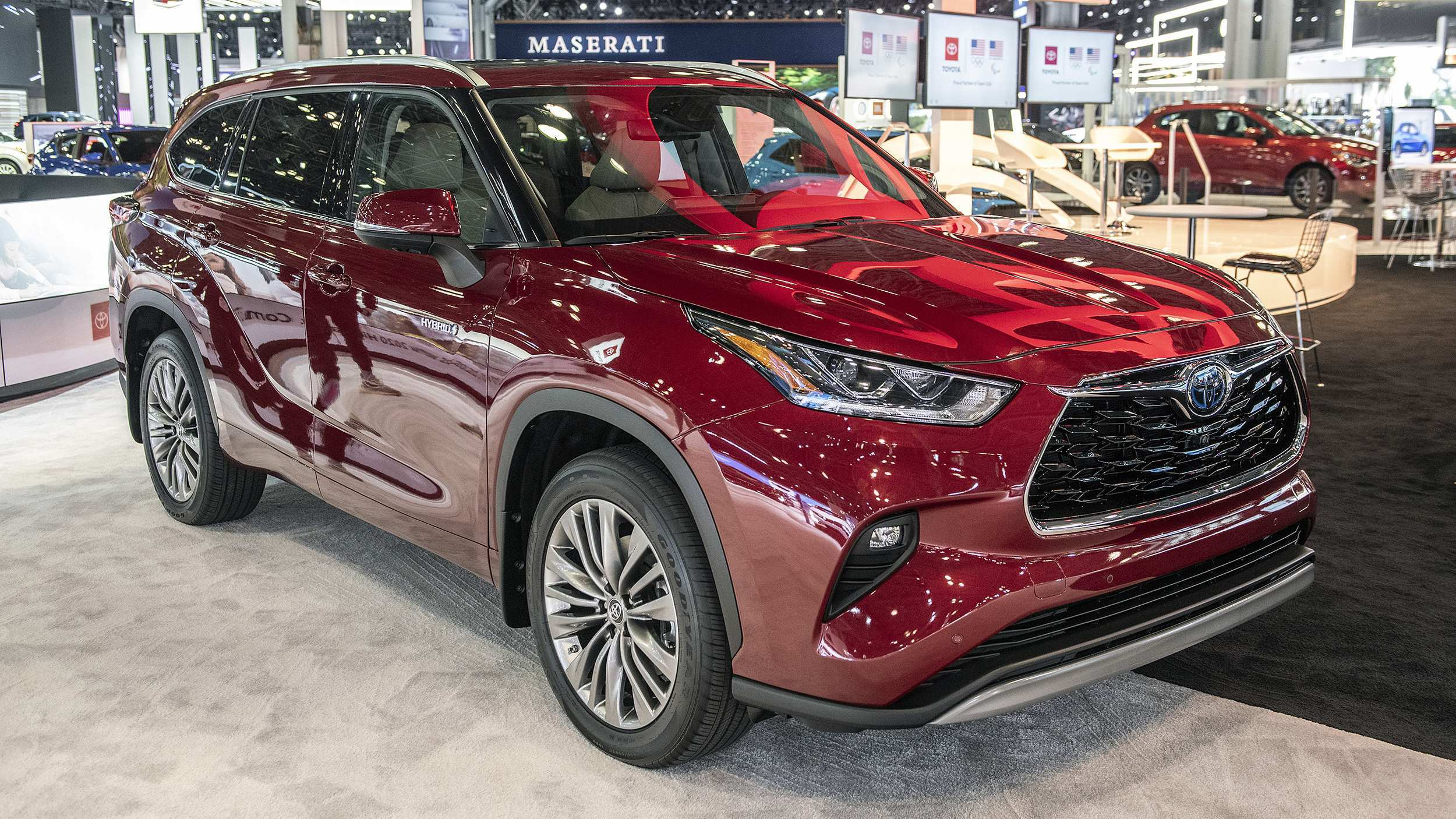 72 Gallery of Toyota Kluger Hybrid 2020 Exterior for Toyota Kluger Hybrid 2020