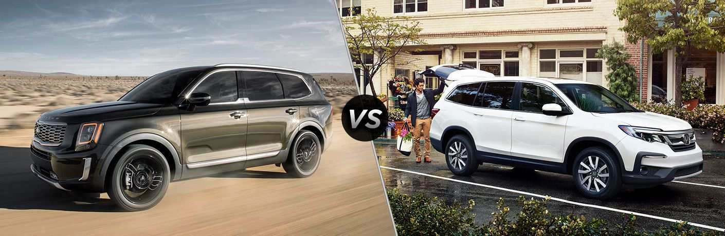 73 Great 2020 Kia Telluride Vs Honda Pilot Speed Test for 2020 Kia Telluride Vs Honda Pilot