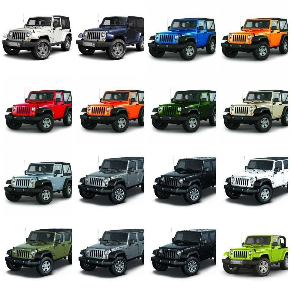 73 New Jeep Jl Colors 2020 Pictures with Jeep Jl Colors 2020