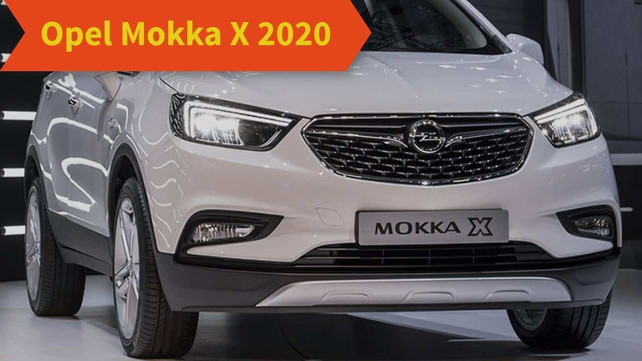 73 The Nuova Opel Mokka X 2020 Spesification by Nuova Opel Mokka X 2020