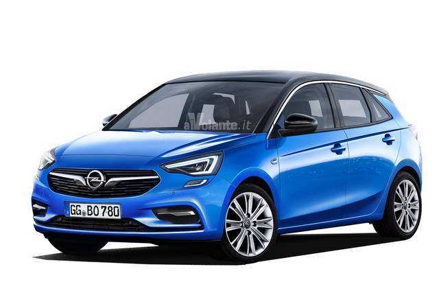 74 All New Opel Corsa 2020 Rendering Release for Opel Corsa 2020 Rendering