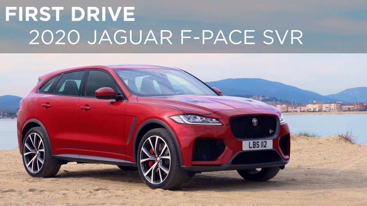 74 Gallery of 2020 Jaguar F Pace Changes Redesign and Concept with 2020 Jaguar F Pace Changes