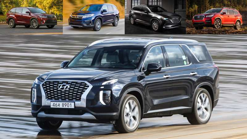 76 New 2020 Hyundai Palisade Trim Levels Release Date by 2020 Hyundai Palisade Trim Levels