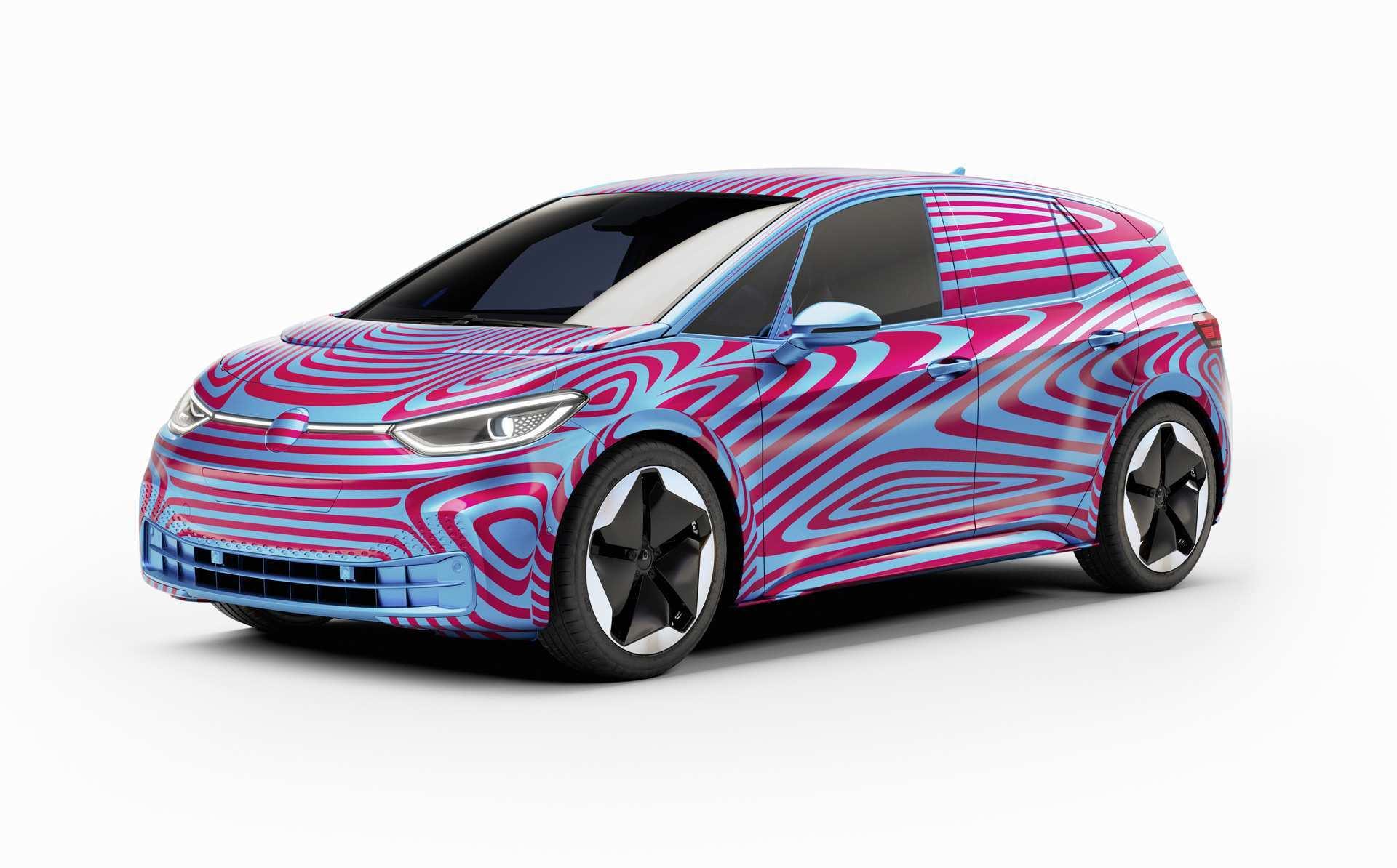 77 Concept of Volkswagen Id 3 2020 Release Date by Volkswagen Id 3 2020