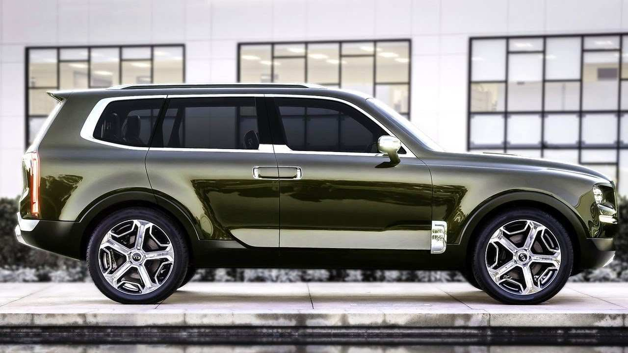 78 Concept of 2020 Kia Telluride Video Picture for 2020 Kia Telluride Video