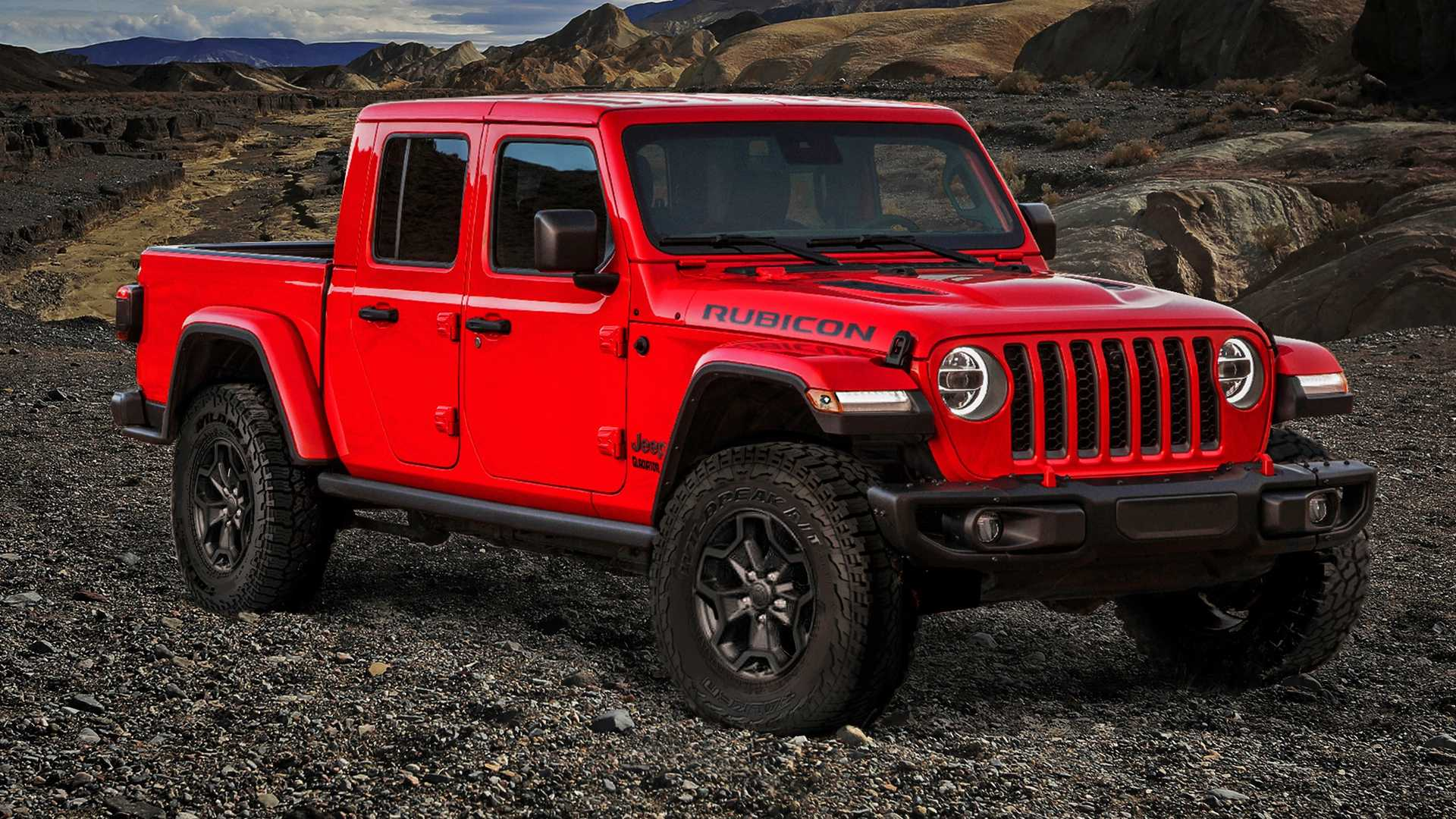 78 The 2020 Jeep Gladiator V8 New Review with 2020 Jeep Gladiator V8