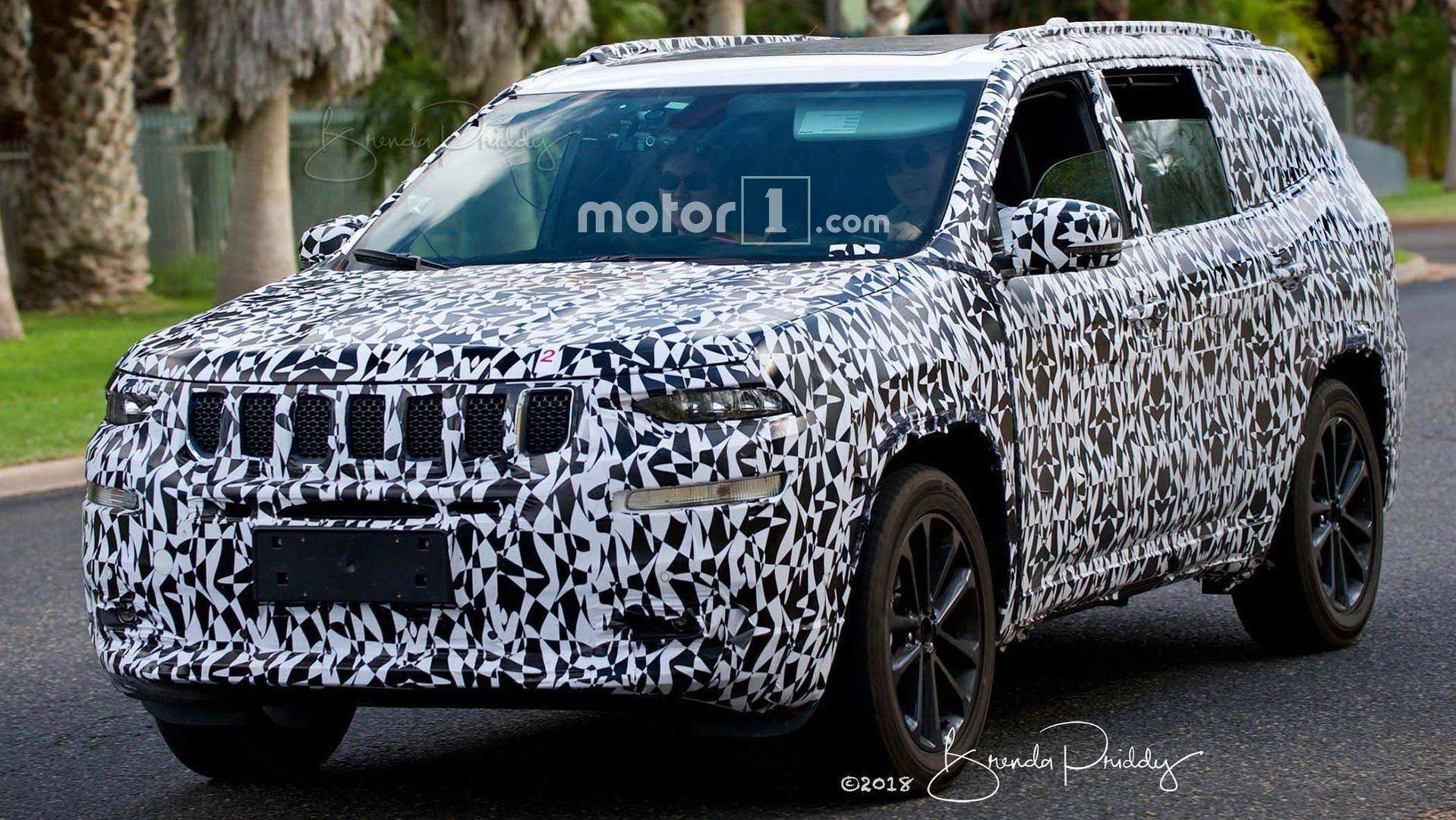79 Concept of Jeep Grand Cherokee 2020 Spy Shots Speed Test by Jeep Grand Cherokee 2020 Spy Shots