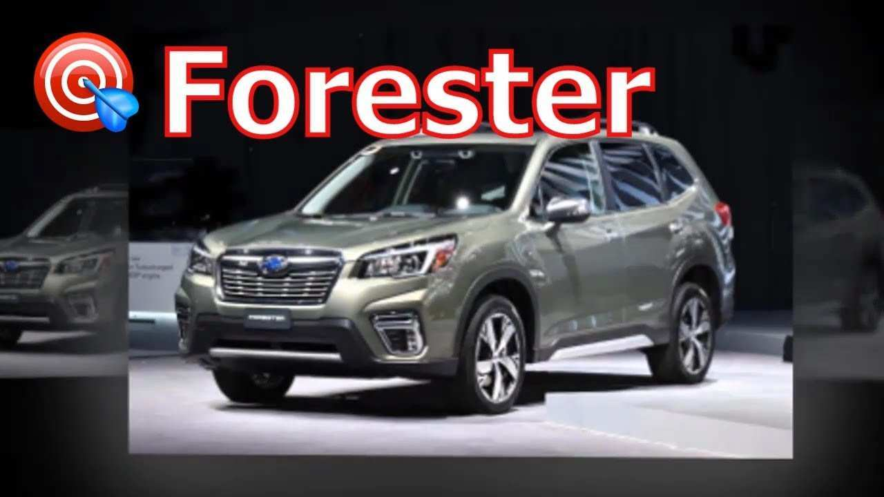 79 Concept of Subaru Forester Xt 2020 Spesification with Subaru Forester Xt 2020