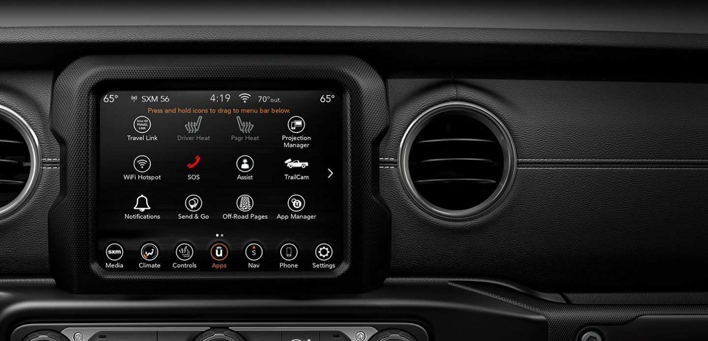 80 Best Review 2020 Jeep Gladiator Interior Picture with 2020 Jeep Gladiator Interior