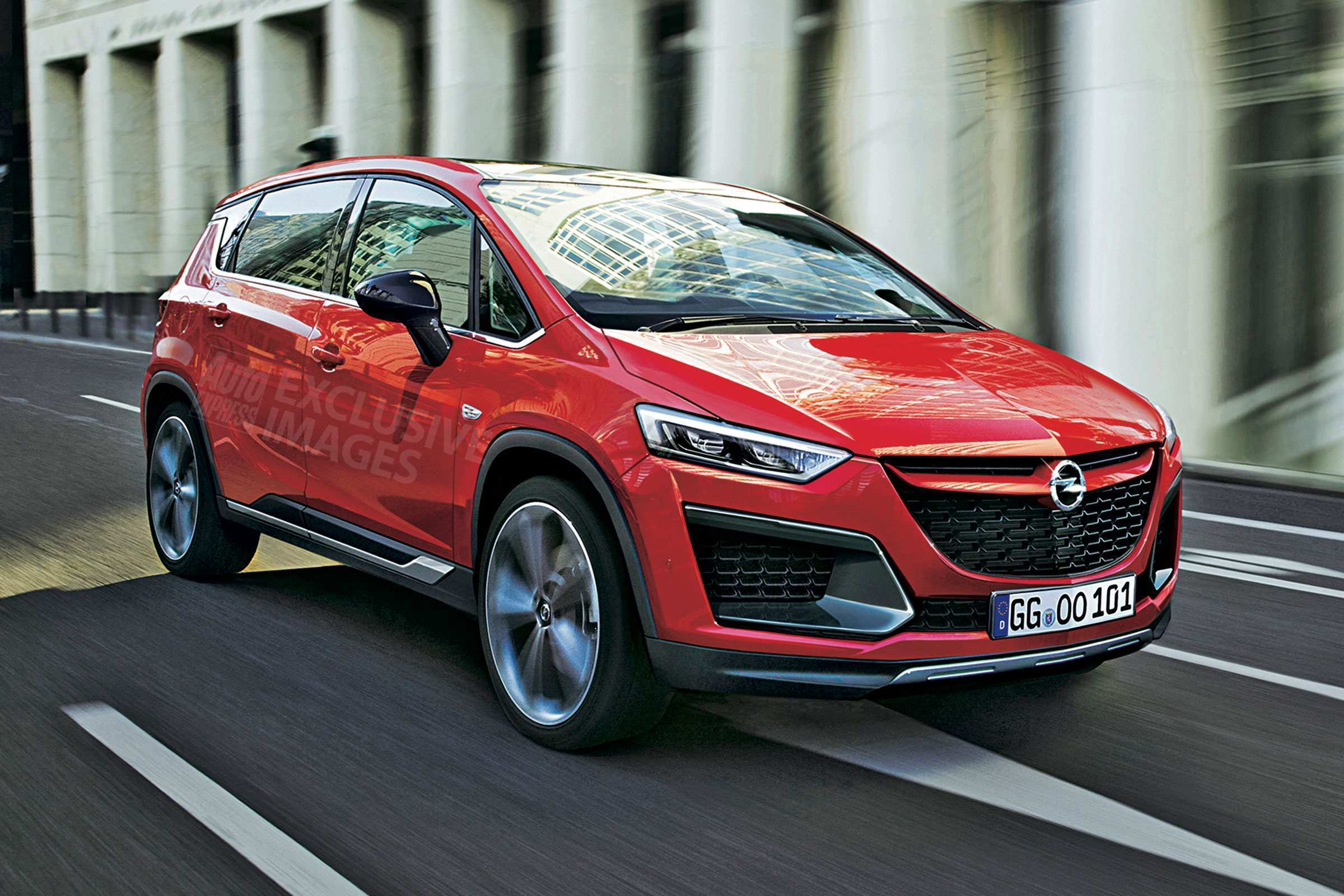 80 Concept of New Opel Zafira 2020 Redesign and Concept with New Opel Zafira 2020