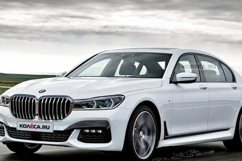 80 Gallery of 2020 BMW 7 Series Lci Spy Shoot for 2020 BMW 7 Series Lci