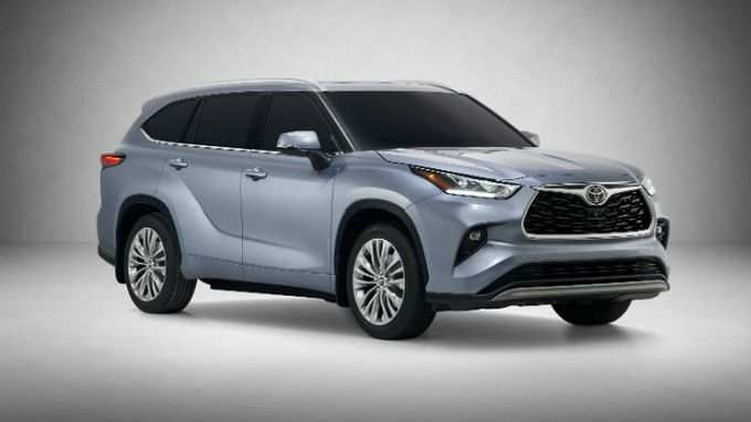 80 Great Toyota Highlander 2020 Redesign Wallpaper with Toyota Highlander 2020 Redesign