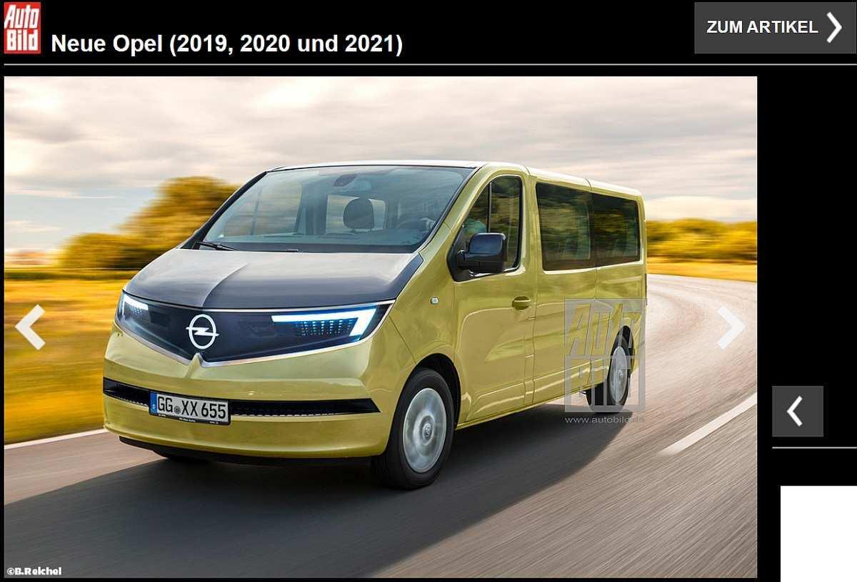 80 New Opel Vivaro Elektro 2020 Configurations for Opel Vivaro Elektro 2020