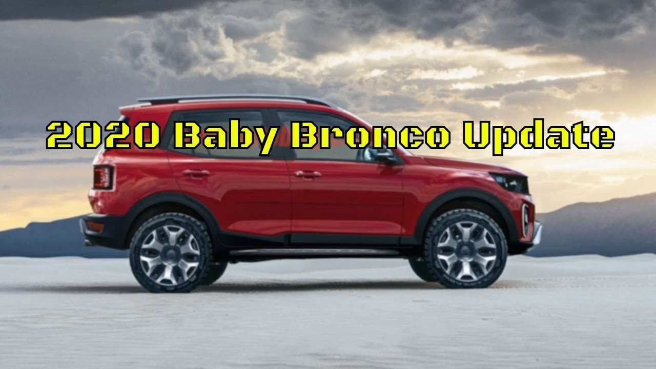 81 All New Ford Baby Bronco 2020 New Concept by Ford Baby Bronco 2020