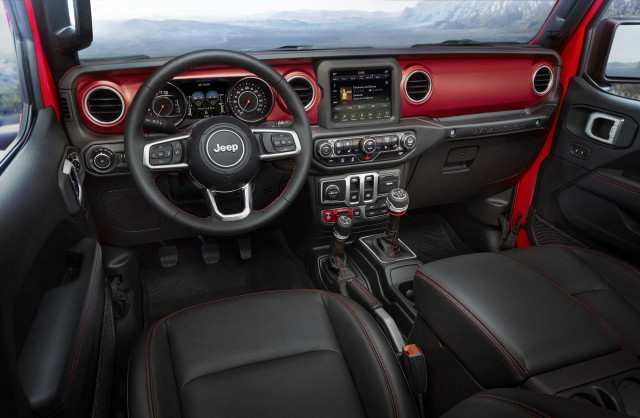 82 Best Review 2020 Jeep Gladiator Interior Style by 2020 Jeep Gladiator Interior