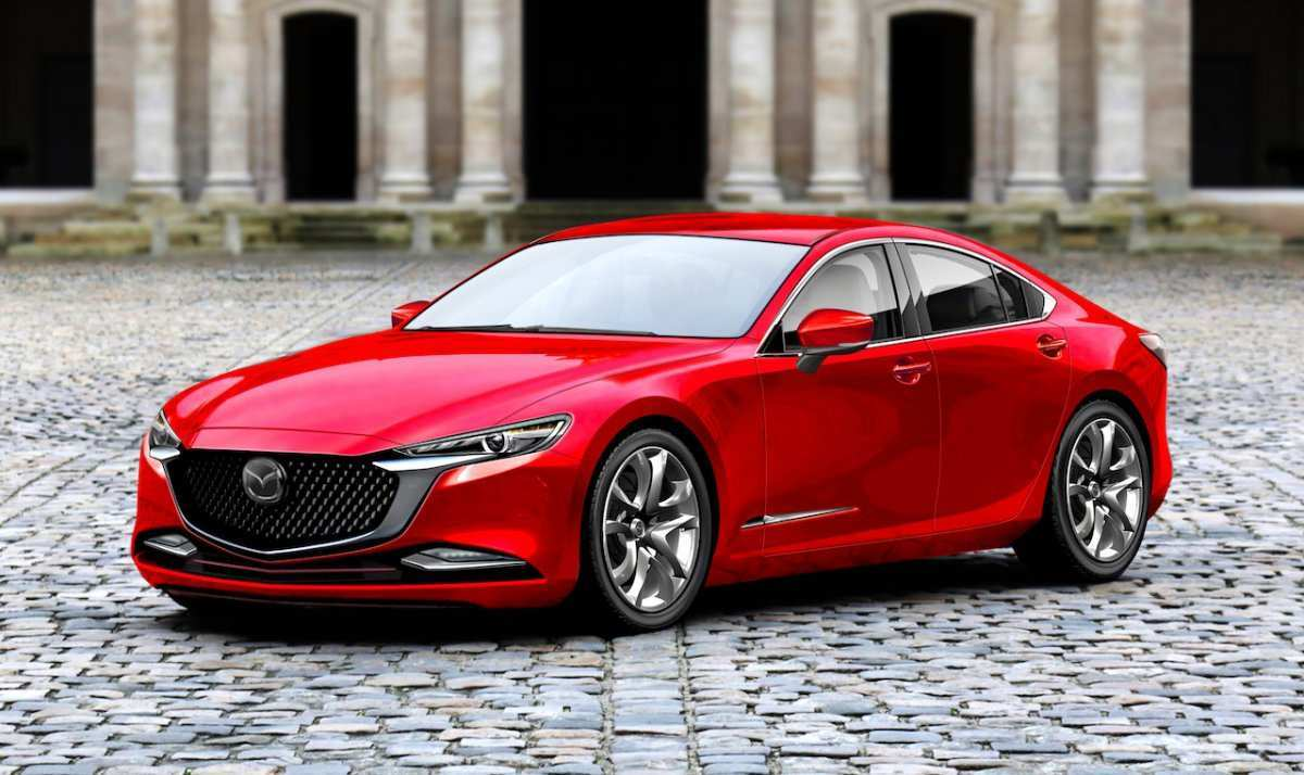 82 The All New Mazda 6 2020 New Concept for All New Mazda 6 2020
