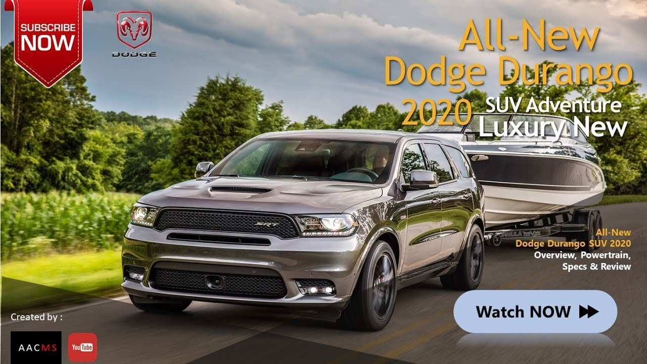 83 All New When Does The 2020 Dodge Durango Come Out Exterior and Interior for When Does The 2020 Dodge Durango Come Out