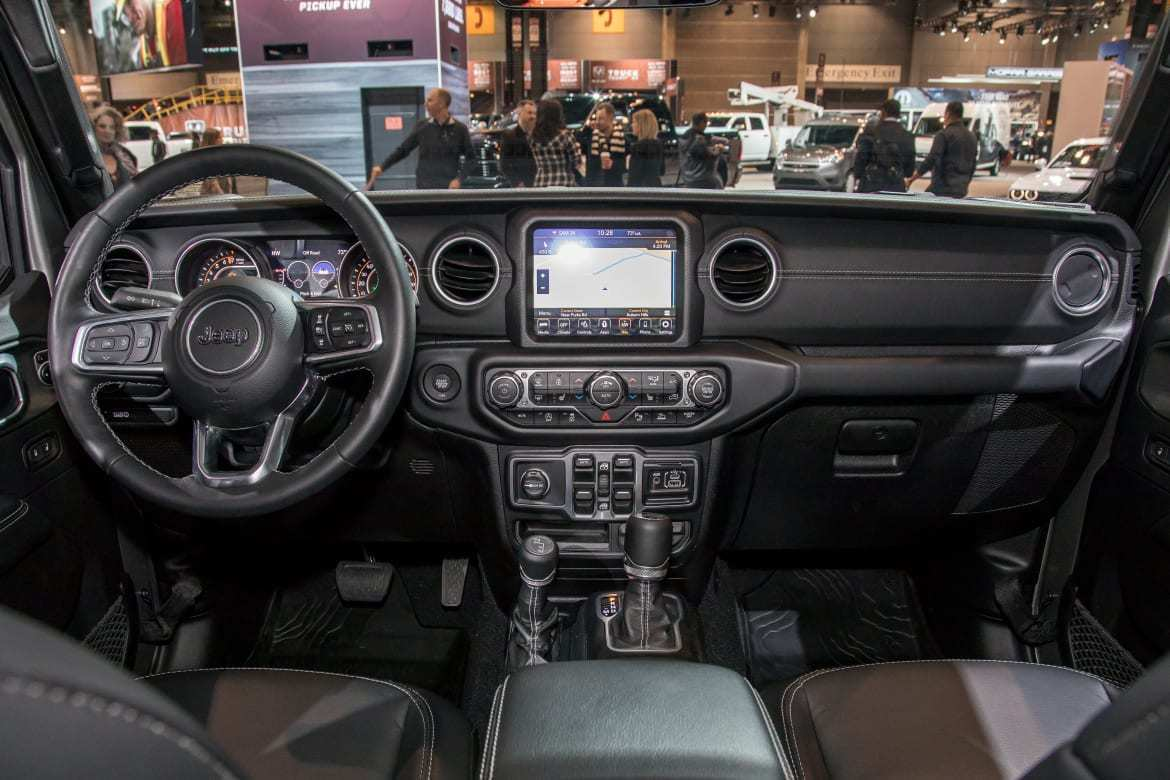 83 Great 2020 Jeep Gladiator Interior Overview for 2020 Jeep Gladiator Interior