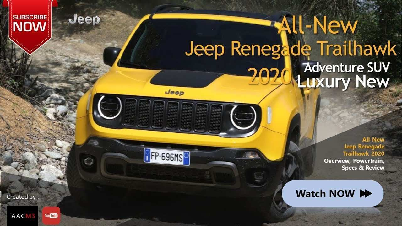 83 The Jeep Cherokee Trailhawk 2020 Concept with Jeep Cherokee Trailhawk 2020