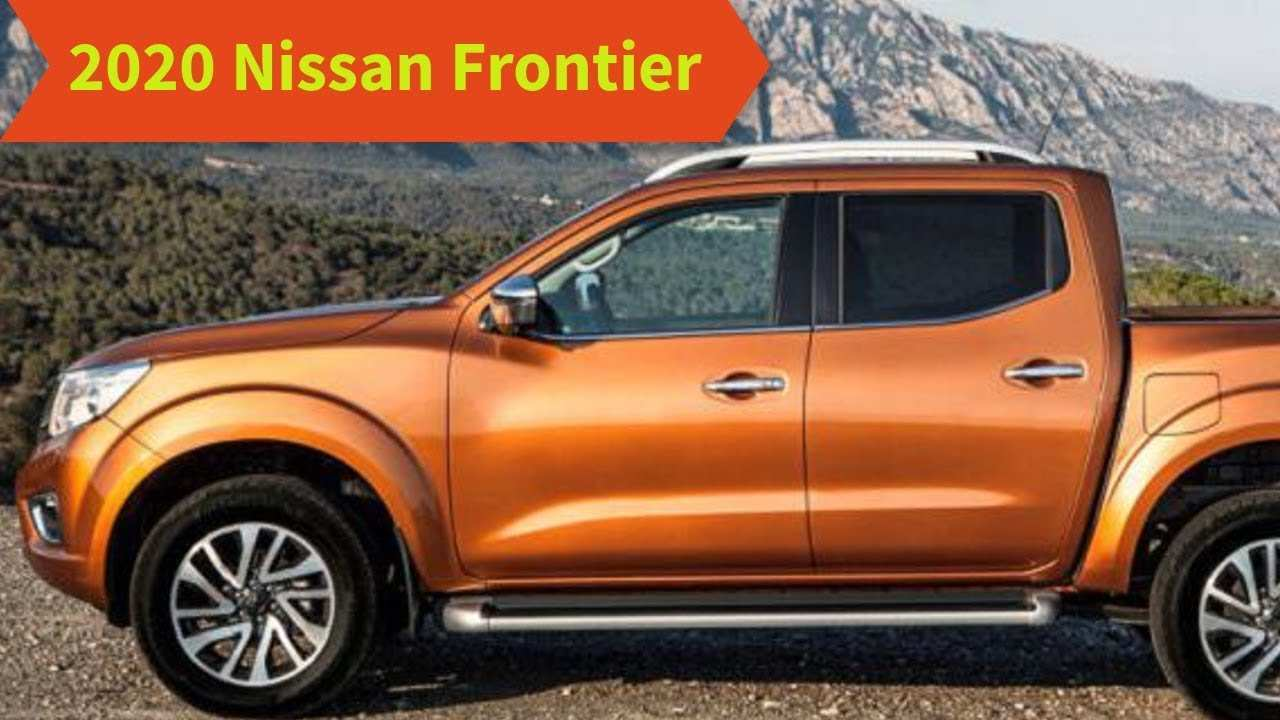 84 All New Nissan Frontier 2020 Usa Spy Shoot with Nissan Frontier 2020 Usa