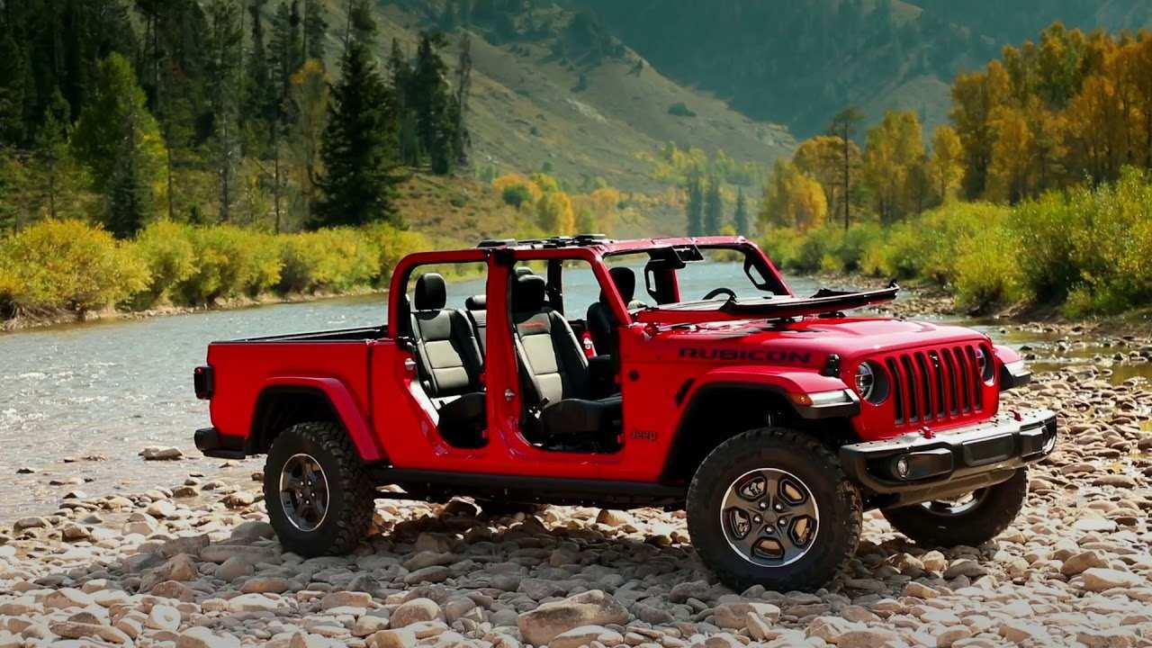 84 Great 2020 Jeep Gladiator Overland Youtube Exterior and Interior by 2020 Jeep Gladiator Overland Youtube