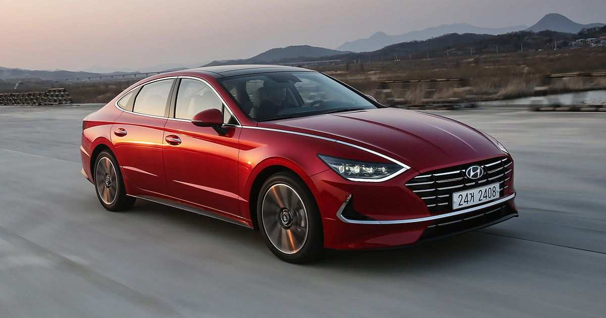 84 The When Will The 2020 Hyundai Sonata Be Available Redesign and Concept by When Will The 2020 Hyundai Sonata Be Available