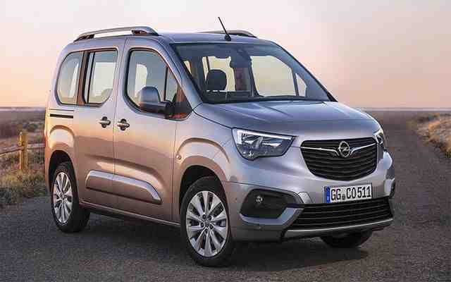 87 Concept of Opel Van 2020 Spy Shoot with Opel Van 2020