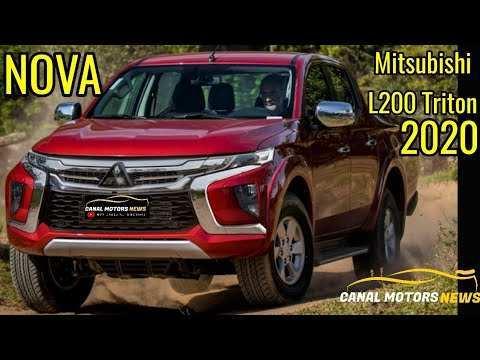 88 Best Review Nova Mitsubishi L200 Triton 2020 Concept by Nova Mitsubishi L200 Triton 2020