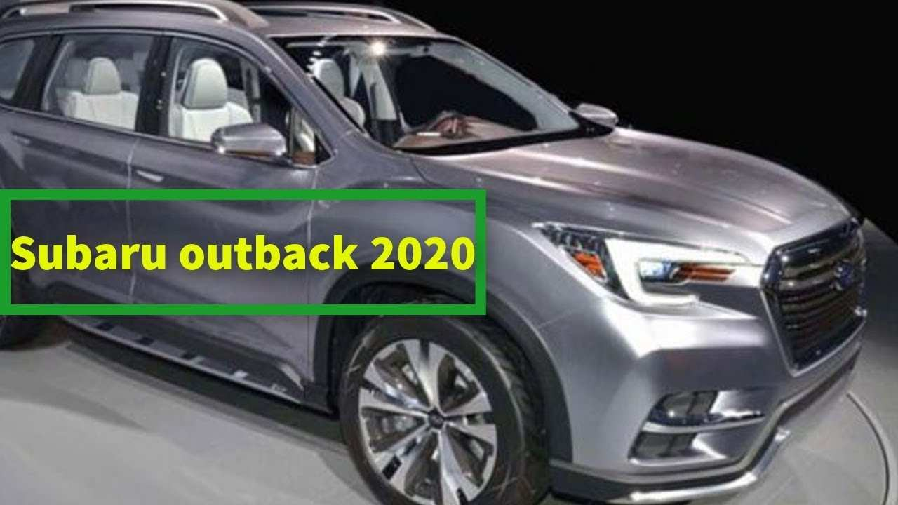 89 All New Subaru Outback New Model 2020 Price and Review by Subaru Outback New Model 2020