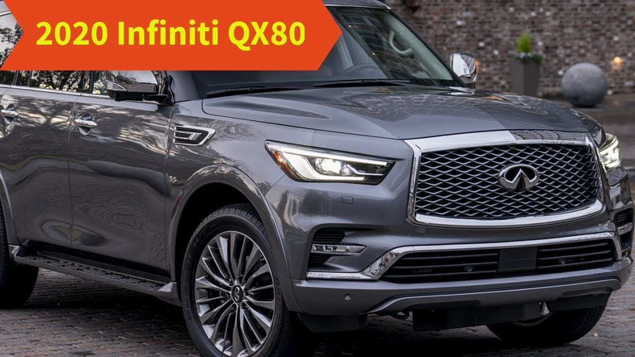 90 Best Review Infiniti Qx80 2020 Performance by Infiniti Qx80 2020