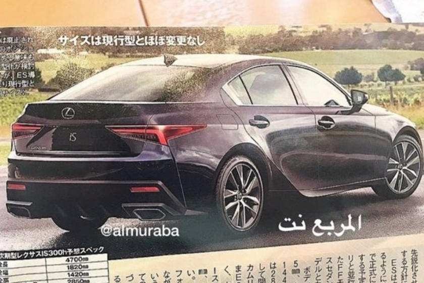 90 Gallery of Lexus Is 2020 Redesign New Review by Lexus Is 2020 Redesign