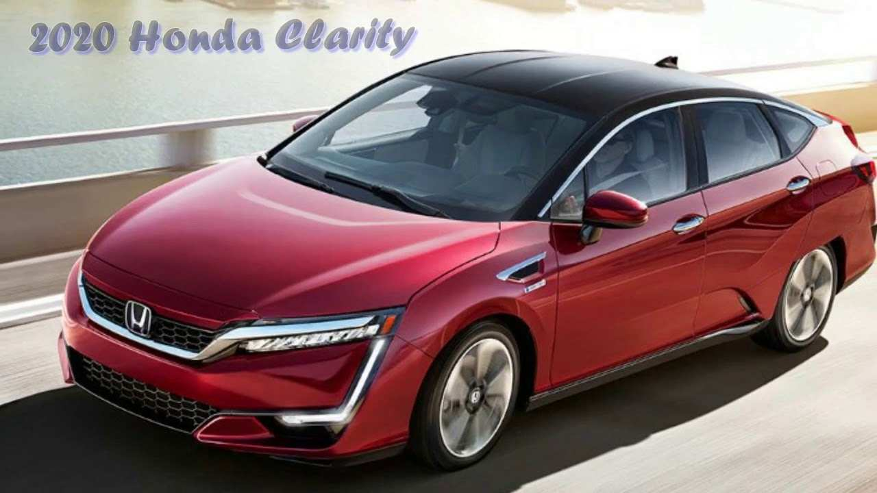 91 Best Review 2020 Honda Clarity Plug In Hybrid Redesign for 2020 Honda Clarity Plug In Hybrid