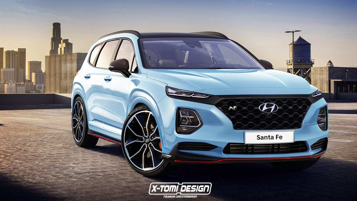 91 Concept of When Will The 2020 Hyundai Santa Fe Be Released Spy Shoot with When Will The 2020 Hyundai Santa Fe Be Released