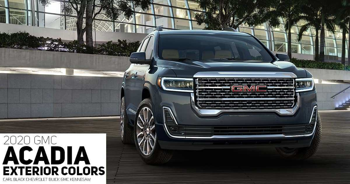 92 Great Gmc Colors For 2020 Model for Gmc Colors For 2020