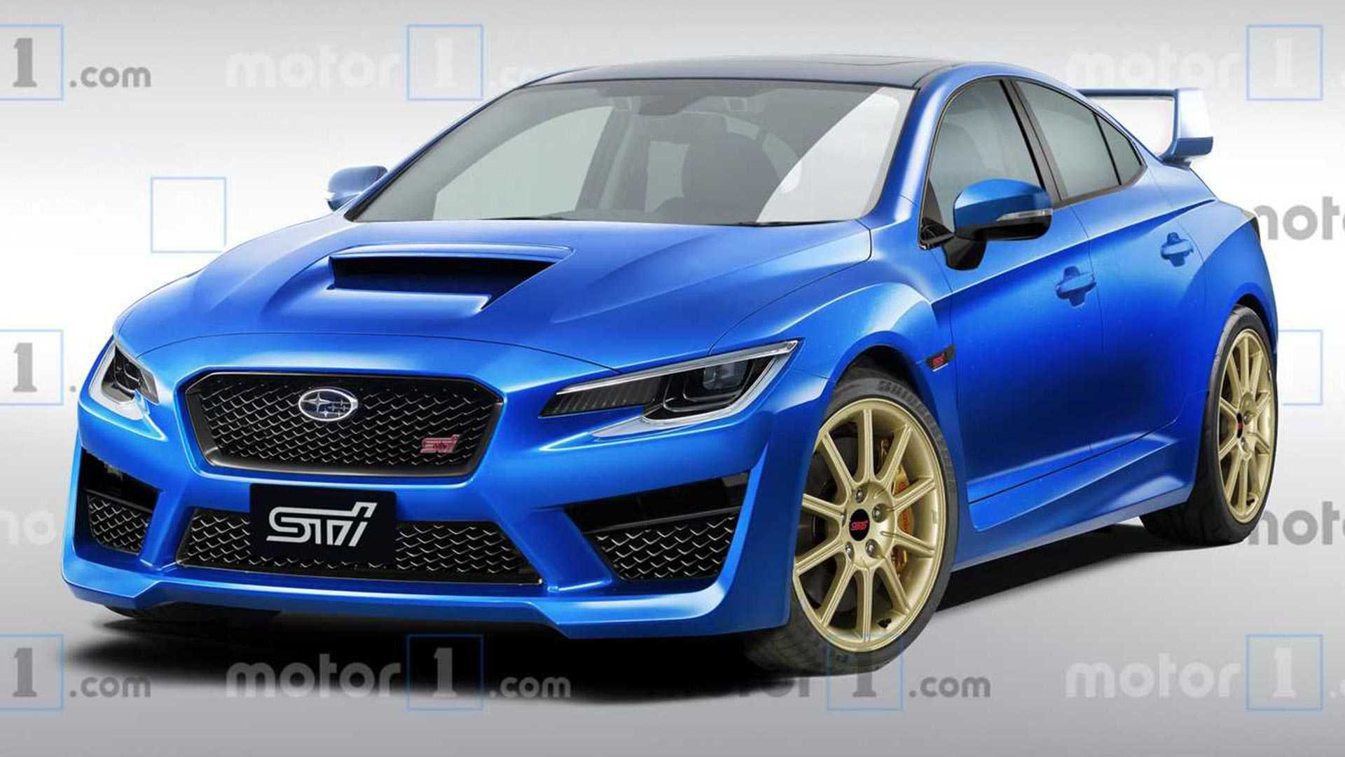 92 Great Subaru Sti 2020 Exterior for Subaru Sti 2020